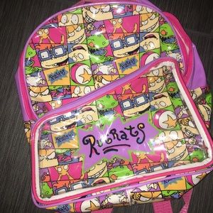 1990s Vintage Rugrats Backpack